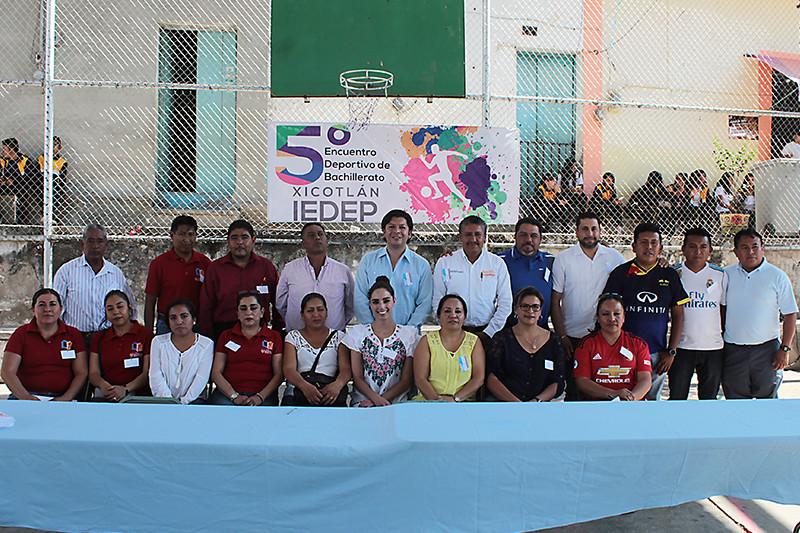 5to encuentro deportivo de Bachillerato Xicotlan