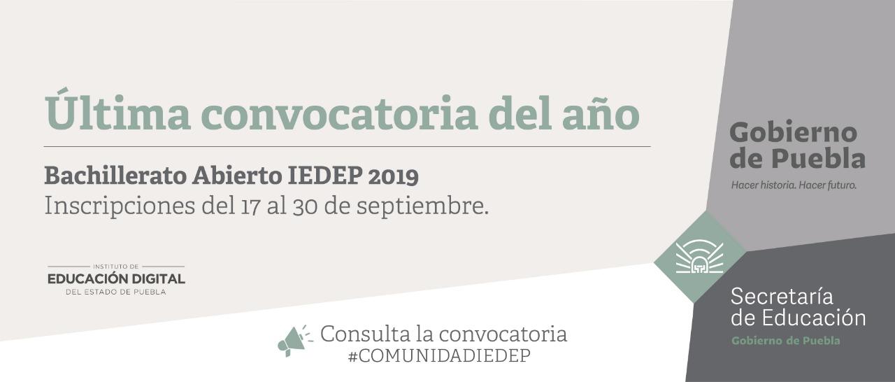 Bachillerato Abierto IEDEP con Diplomado Técnico en Administración y Contabilidad IEDEP.